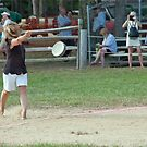 Frying Pan Throw.....Two by phil decocco