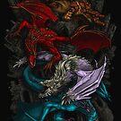 Elemental Dragons by Jamie Flack