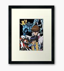 Yu-Gi-Oh - Kaiba Framed Print