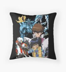 Yu-Gi-Oh - Kaiba Throw Pillow