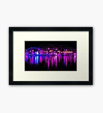 Dancing Lights two Framed Print