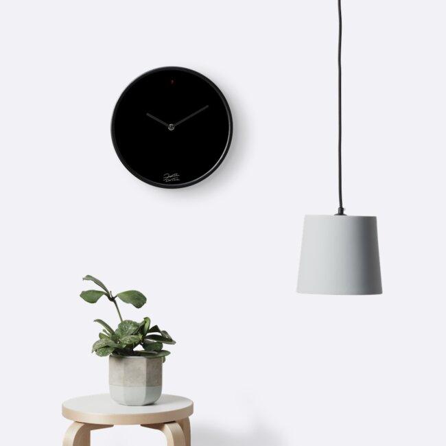 Minimalist Plain Clock by HoremWeb
