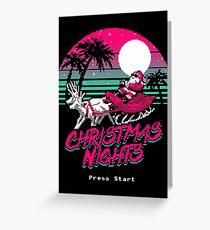 Christmas Nights Greeting Card