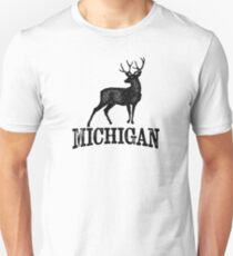 Michigan T-shirt - Stag Deer T-Shirt
