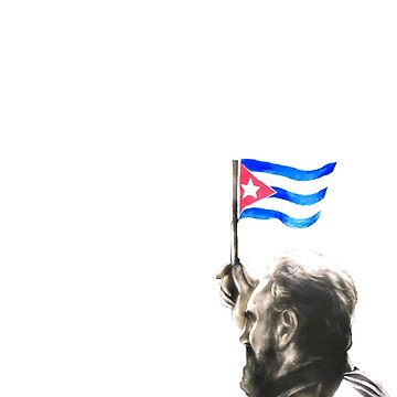Fidel Castro - Hommage Tshirt by Pierre-Berge