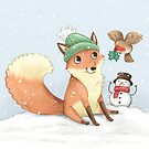 Christmas Fox by Katie Corrigan