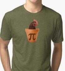 Chicken Pot Pi  Tri-blend T-Shirt