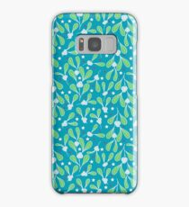 Holiday Mistletoe Samsung Galaxy Case/Skin