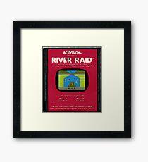 River Raid Cartridge Framed Print
