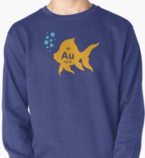 Periodic Table Elemental Gold Fish Pullover Sweatshirt