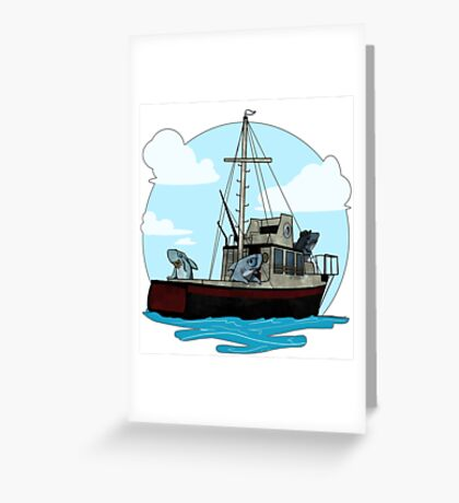 Role Reversal  Greeting Card