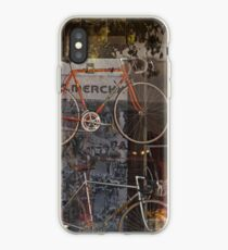 Bicycle Shop Window - Eddie Merckx Bikes iPhone Case