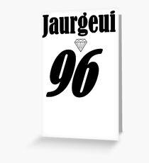 Tarjeta de felicitación Lauren Jaurgeui Merch