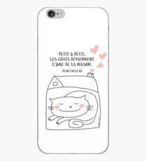 Les chats... l'âme de la maison / Cat Doodle iPhone Case