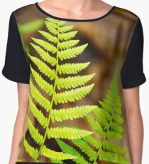Spring Fern Women's Chiffon Top