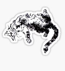 Kitty Kitty, bang-bang! Sticker
