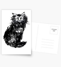 Kitty Kitty, bang-bang! Postcards