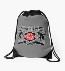 Coat of Arms - Wizard Drawstring Bag