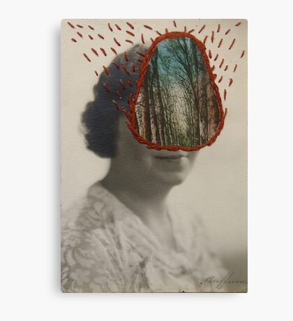 Forest Woman Canvas Print