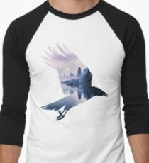 Crow Mystic River  Men's Baseball ¾ T-Shirt