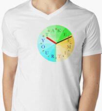 Take Your Time Men's V-Neck T-Shirt