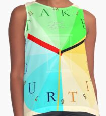 Take Your Time Contrast Tank