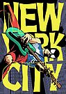 Nega New York City by butcherbilly