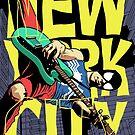 Nega New York City by butcherbilly