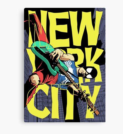 Nega New York City Canvas Print