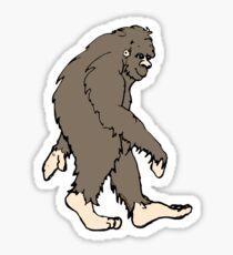 Cute Sasquatch  Sticker