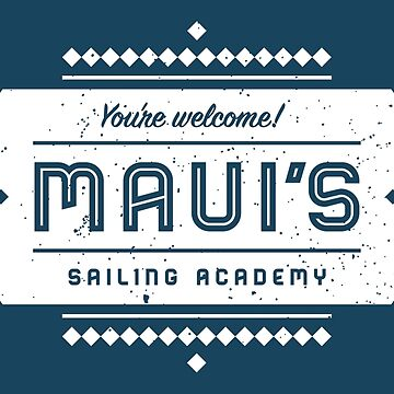 Mauis Segelakademie von someimagination