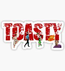 Toasty - Mortal Kombat Sticker