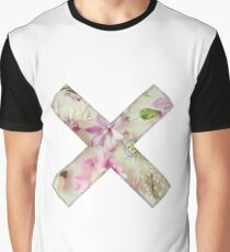 Floral Straightedge  Graphic T-Shirt