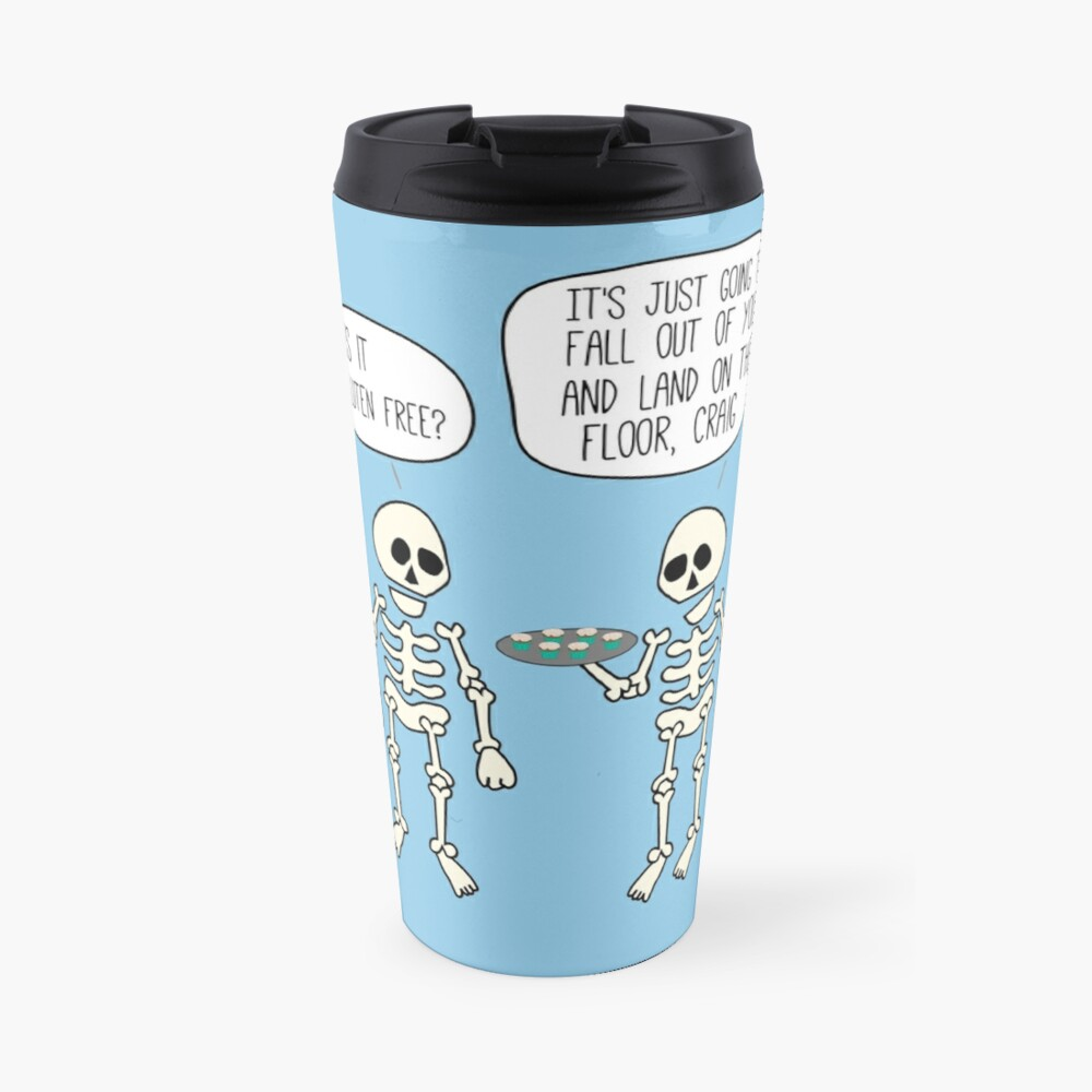 Is it gluten free? Travel Mug