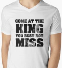 Omar Little - The Wire - Come at the king Men's V-Neck T-Shirt