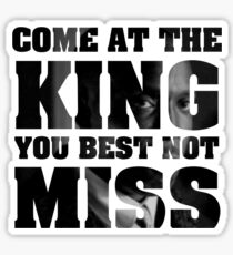 Omar Little - The Wire - Come at the king Sticker