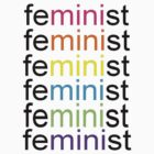 Multi-Color Mini Feminist by CatherineCameo