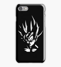 Goku Stencil iPhone Case/Skin