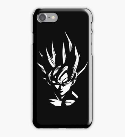 Goku Stencil iPhone Case/Skin