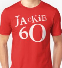 Red Holiday Editions Jackie 60 Logo  Slim Fit T-Shirt