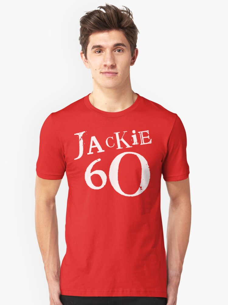 Alternate view of Red Holiday Editions Jackie 60 Logo  Slim Fit T-Shirt