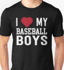 I love my baseball boys T-Shirt