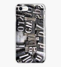 Washington DC: Typeset 2 iPhone Case/Skin