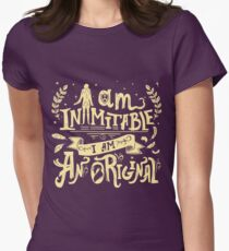 Inimitable Women's Fitted T-Shirt