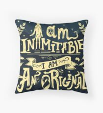 Inimitable Throw Pillow