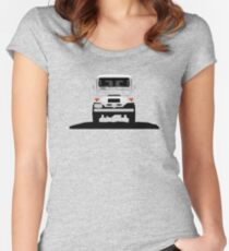 The classic offroader Women's Fitted Scoop T-Shirt