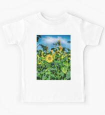 Sunflower Field Kids Tee
