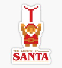 The Legend of Santa Sticker