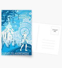 Forscher gesucht Postkarten
