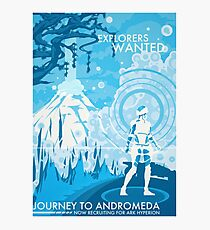 Explorers Wanted Photographic Print